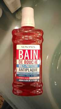 Monoprix - Multi-protection antiplaque - Bain de bouche