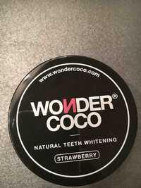 Wondercoco - Strawberry - Natural teeth whitening