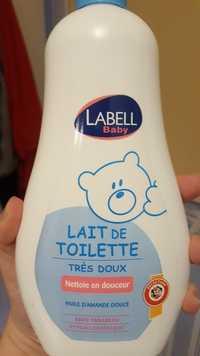 Labell - Baby Huile d'amande douce - Lait de toilette