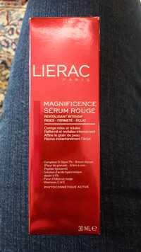 Liérac - Magnificience - Sérum rouge revitalisant intensif
