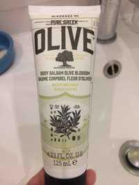 KORRES - Pure greek olive - Body balsam olive blossom