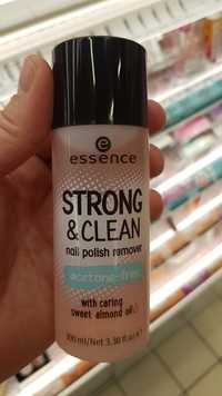 Essence - Strong & clean - Nail polish remover