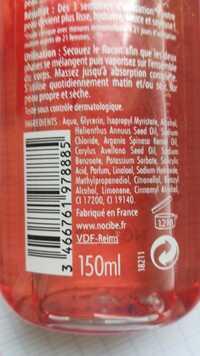 NOCIBÉ - Corps huiles sèche hydratante