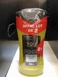 AXE - You clean fresh - Gel douche 6 en 1