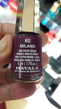 MAVALA - 62 Milano - Vernis à ongles crème