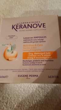 KÉRANOVE - Ampoules sans rinçage nutrition & soin