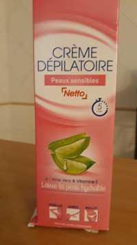 Netto - Crème dépilatoire peaux sensibles