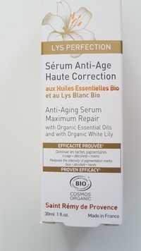 FLORAME - Lys Perfection - Sérum anti-âge haute correction bio