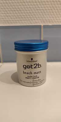 Schwarzkopf - Got2b - Beach matt paste