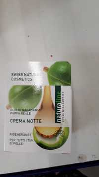 Naturaline - Crema notte olio di macadamia pappa reale