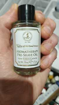 TAYLOR OF OLD BOND STREET - Aromatherapy pre-shave oil