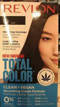 REVLON - Total color - Formule crème nourrisante 10 noir
