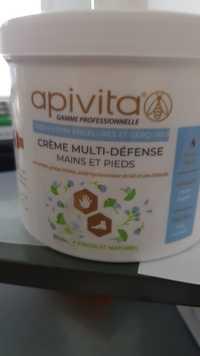 Apivita - Crème multi défense mains et pieds