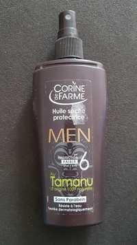 Corine de Farme - Men - Huile sèche protectrice au tamanu SPF 6