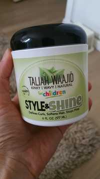 TALIAH WAAJID - Style & Shine - Defines curl for children