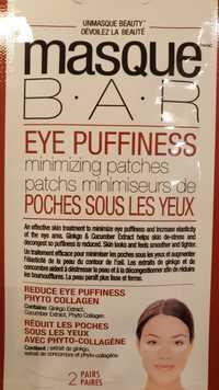 Masque B.A.R - Patchs minimiseurs de poches sous les yeux