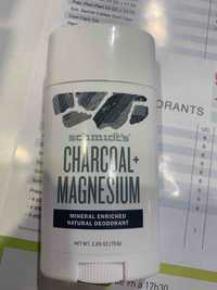 SCHMIDT'S - Charcoal + magnesium - Natural déodorant