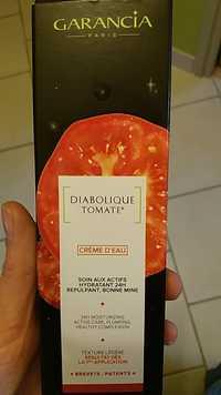 Garancia - Diabolique Tomate - Crème d'eau