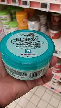 L'Oréal - Elseve argile extraordinaire argile-en-masque avant shampooing