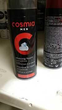 Cosmia - Men - Mousse à raser sensitive hydrate & protège men