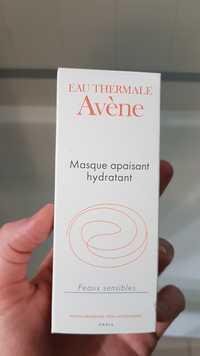 Eau Thermale Avène - Masque apaisant hydratant peaux sensibles