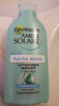 GARNIER - Ambre Solaire - Lait hydratant après soleil