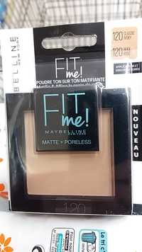 Gemey Maybelline - Fit Me Poudre mat antipores