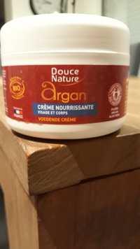 Douce Nature - Argan - Crème nourrissante visage et corps