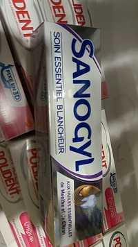SANOGYL - Soin essentiel blancheur dentifrice aux huiles essentielles de menthe et de citron