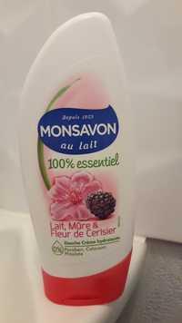 Monsavon - Mûre & fleur de cerisier au lait - Douche crème hydratante
