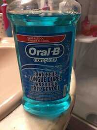 ORAL-B - Bain de bouche fraicheur longue durée
