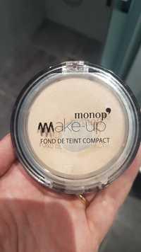 Monoprix - Monop' Make-up - Fond de teint compact 02 Beige doré