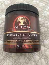 AS I AM - Double Butter Cream - Hydratant quotidien pour cheveux