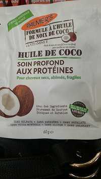 PALMER'S - Huile de coco - Soin profond aux protéines