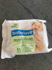 Babylove - Sensitive - Feuchttücher
