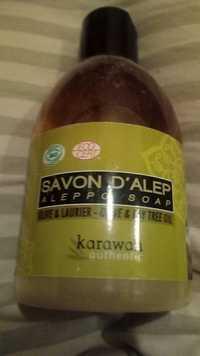 Karawan Authentic - Olive & laurier - Savon d'Alep