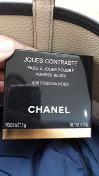 CHANEL - Joues contraste - Fard à joues poudre 430 foschia rosa