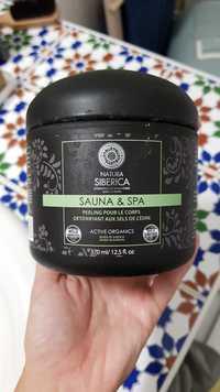 NATURA SIBERICA - Sauna & spa - Peeling pour le corps détoxifiant aux sels de cèdre