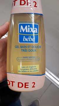 Mixa - Bébé - Gel bain et douche très doux