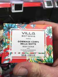 VILLA BOTANIA - fleur de grangipanier - Gommage corps kanikani