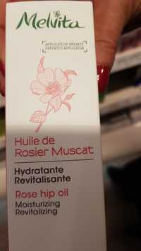 Melvita - Huile de Rosier Muscat - Hydratante revitalisante