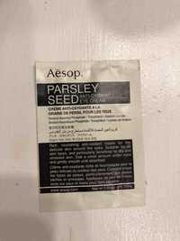 Aésop. - Parsley seed - Crème anti-oxidante pour les yeux