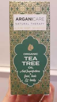 ARGANICARE - Huile d'arbre à thé bio