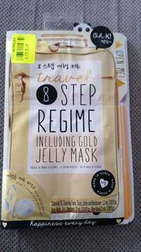 OH K! - Travel step regime including gold jelly mask