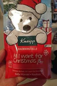 KNEIPP - All I want for christmas is... - Cristaux de bain