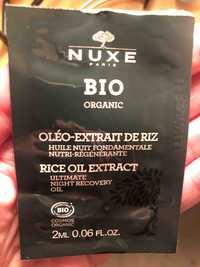 NUXE - Bio Organic - Oléo-extrait de riz