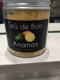 Chemins du Soin - Sels de bain parfum ananas