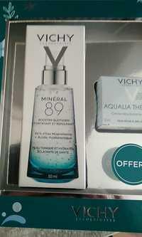 VICHY - Coffret minéral 89 + aqualia thermal