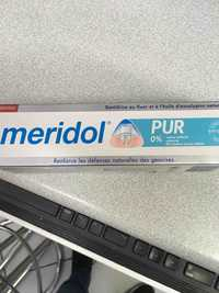 Méridol - Pur - Dentifrice au fluor et à l'huile d'eucalyptus