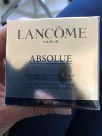 Lancôme - Absolue - Soin regard revitalisant